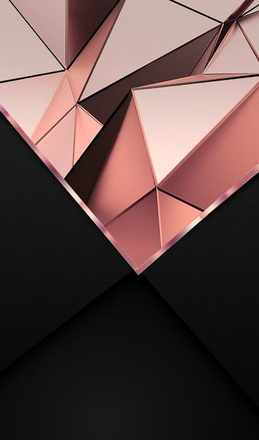 Iphone Black And Rose Gold Wallpaper