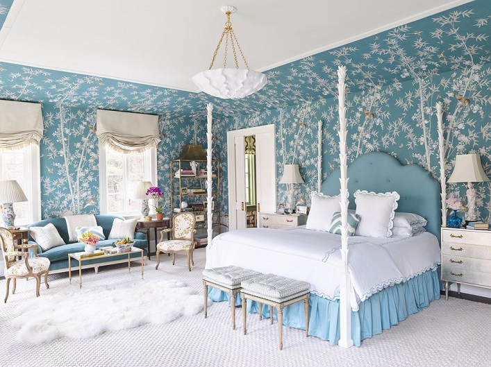 marvellous beautiful white bedroom designs | Mix and Chic: Inside designer Meg Braff's vibrant and ...