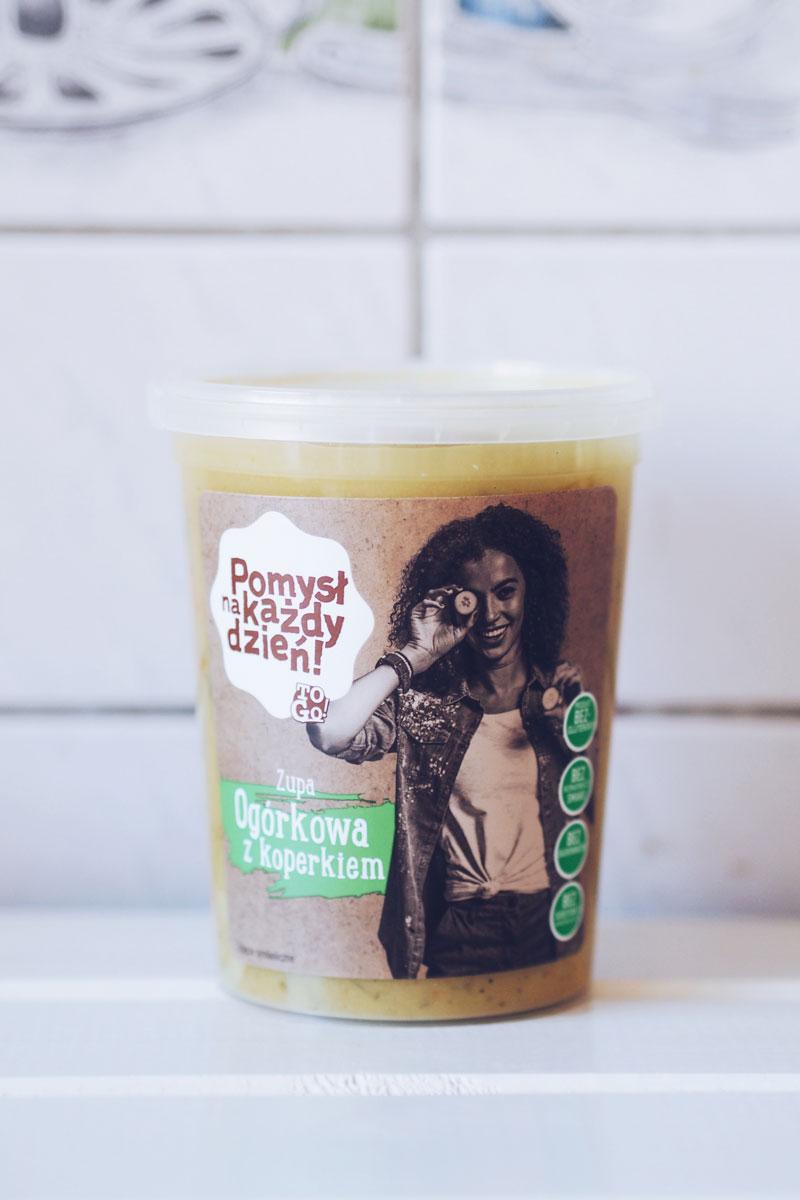 Zupa ogórkowa z koperkiem bez dodatku konserwantów, barwników i wzmacniaczy smaków - do kupienia w Lidlu.
