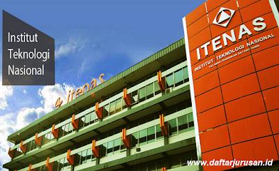 Daftar Fakultas dan Jurusan ITENAS Institut Teknologi Nasional Bandung
