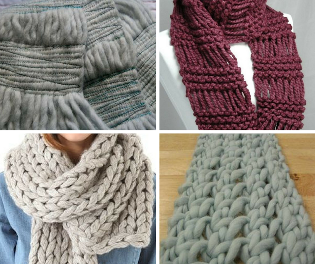 fast knitting, chunky knitting, quick patterns, easy patterns