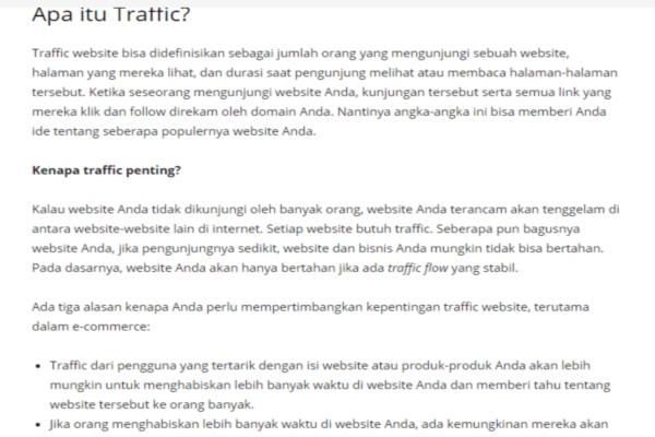 Cara Meningkatkan Traffic Di Blog