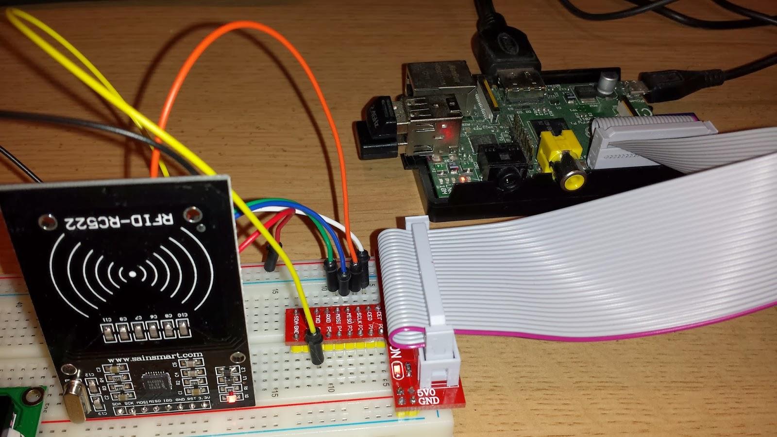 GeraintW Online Blog: RFID and Raspberry PI