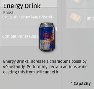 Энергетический напиток (Energy Drinks) в Playerunknown's Battlegrounds