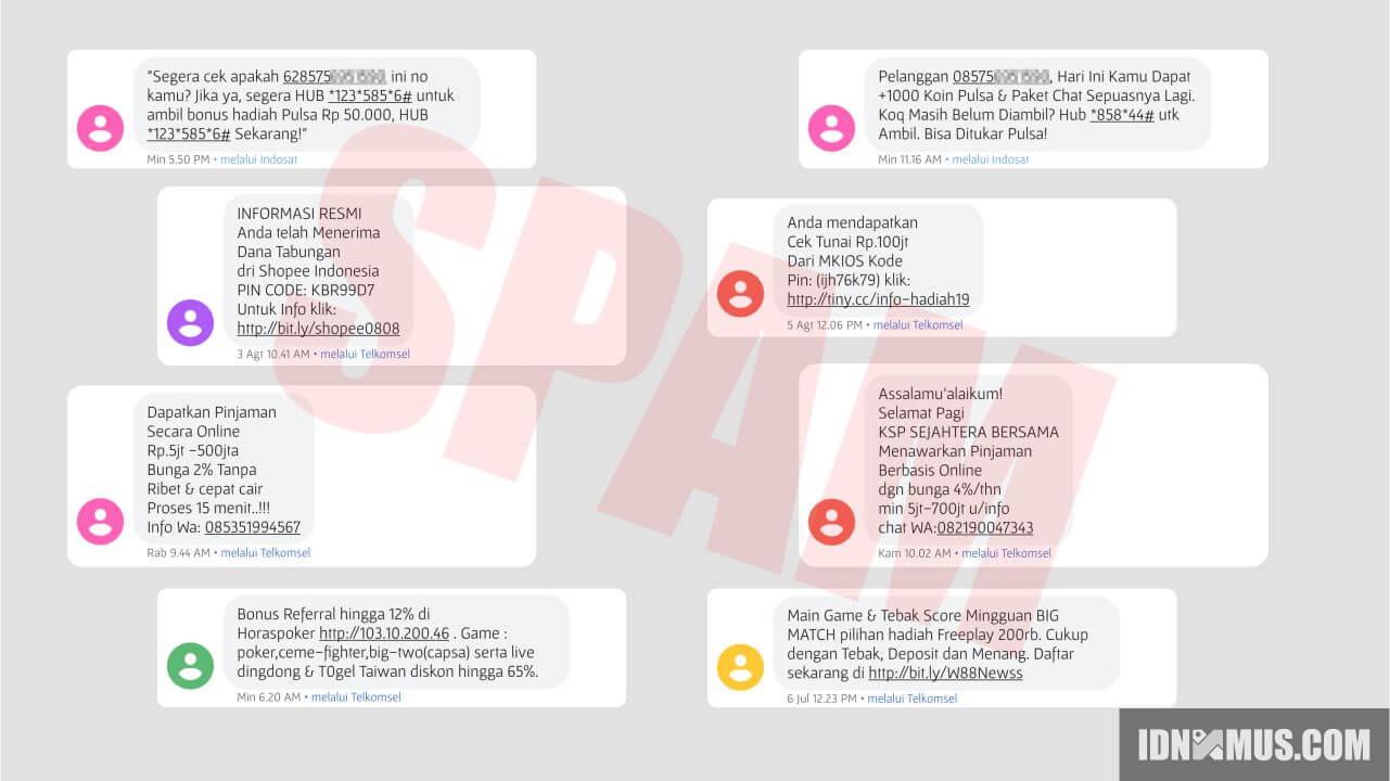 Cara Blokir Sms Penipuan Dan Spam Di Hp Android Idnxmus