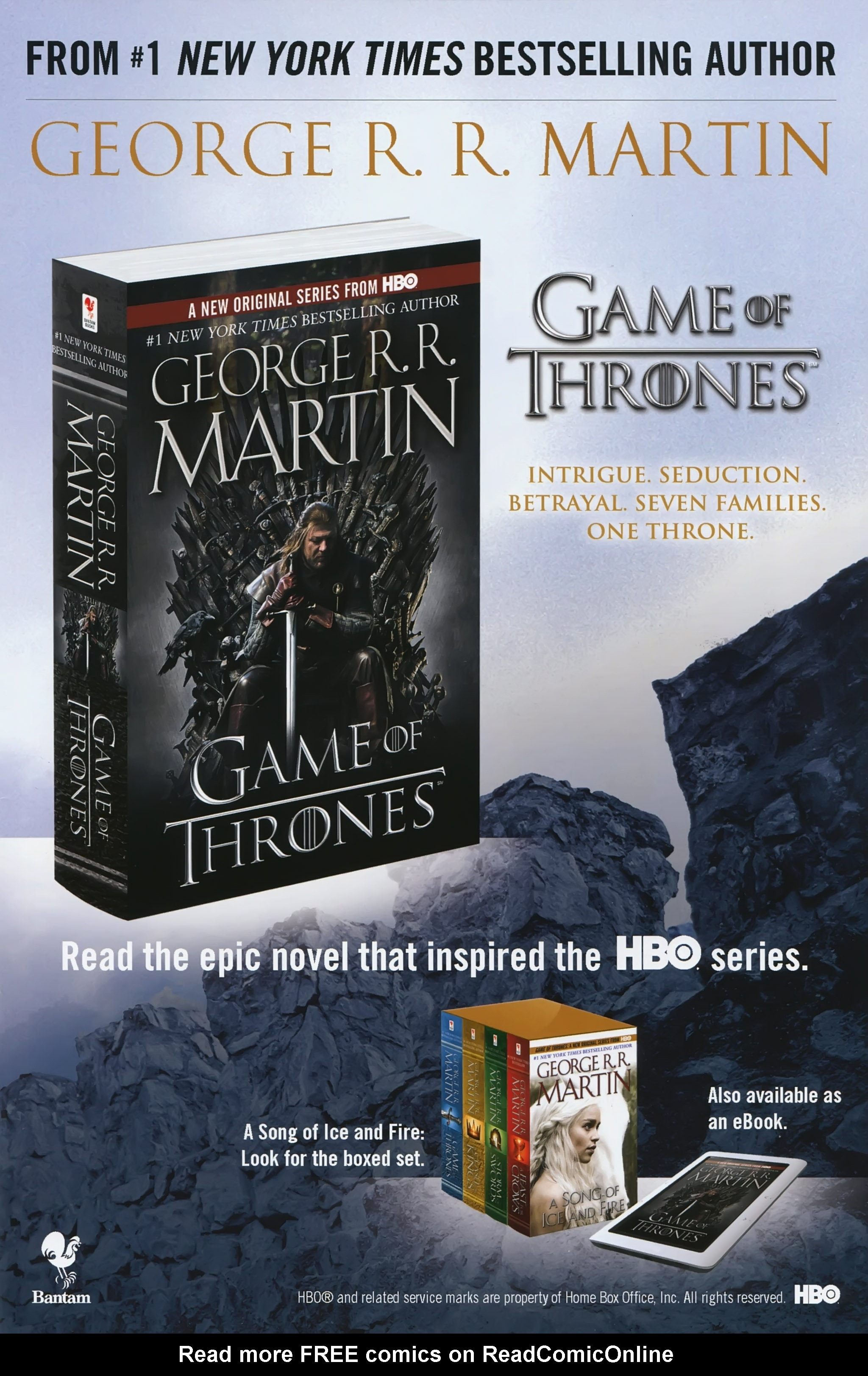 Read online A Game Of Thrones comic -  Issue #23 - 34