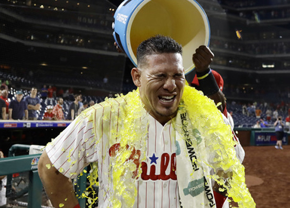 Wilson Ramos propels Phillies to victory in his debut