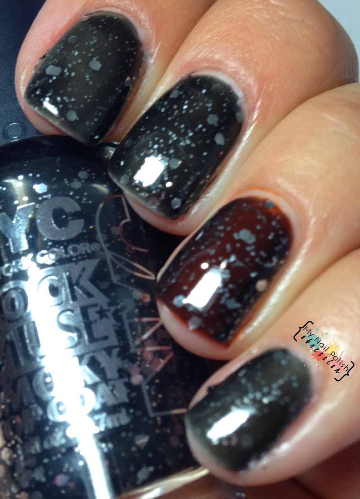 NYC New York Color Rock Muse Smoky Topcoat