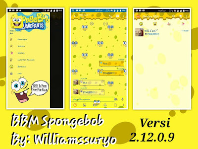 BBM Mod Animasi Spongebob 2.12.0.9 Apk