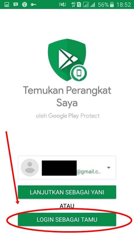 cara melacak hp hilang android dengan gps
