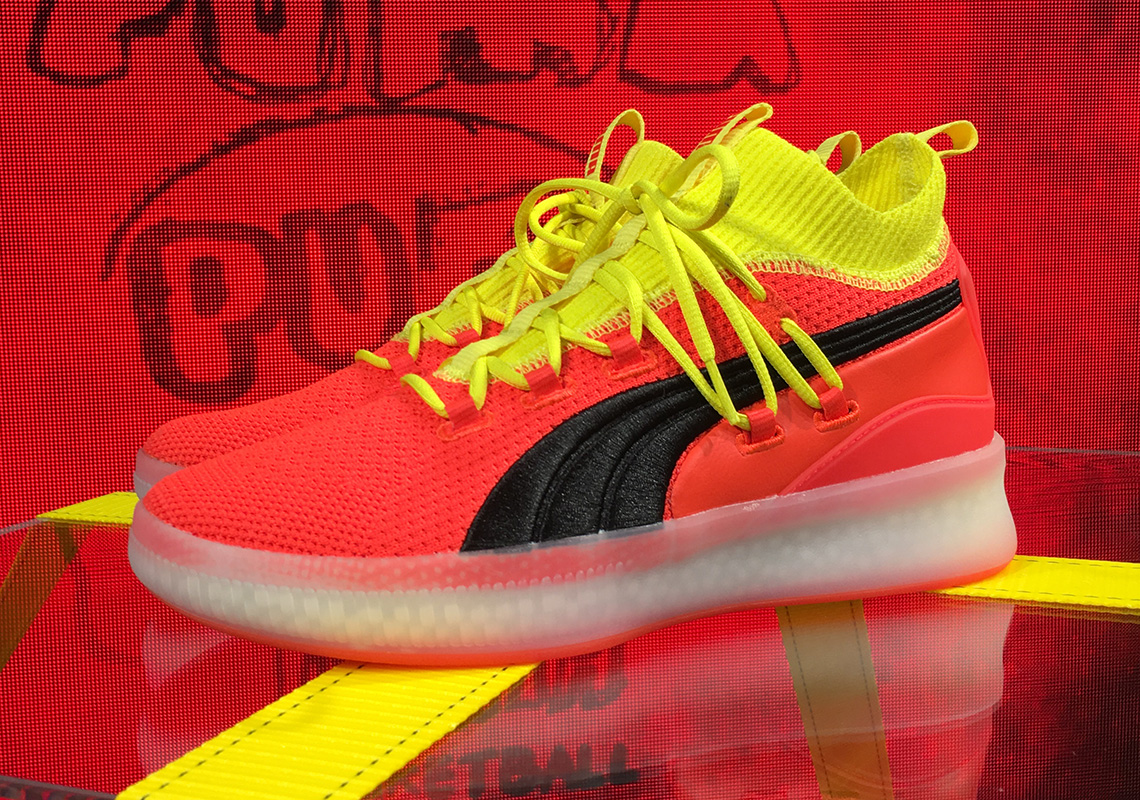 competitive price f6f32 86ca5 Clyde Court: Puma Unveils Basketball Shoe NBA Players Will ...