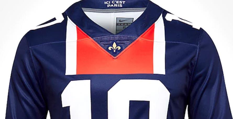 on sale 4056a b96dc Nike PSG American Football Jersey Released - Footy Headlines