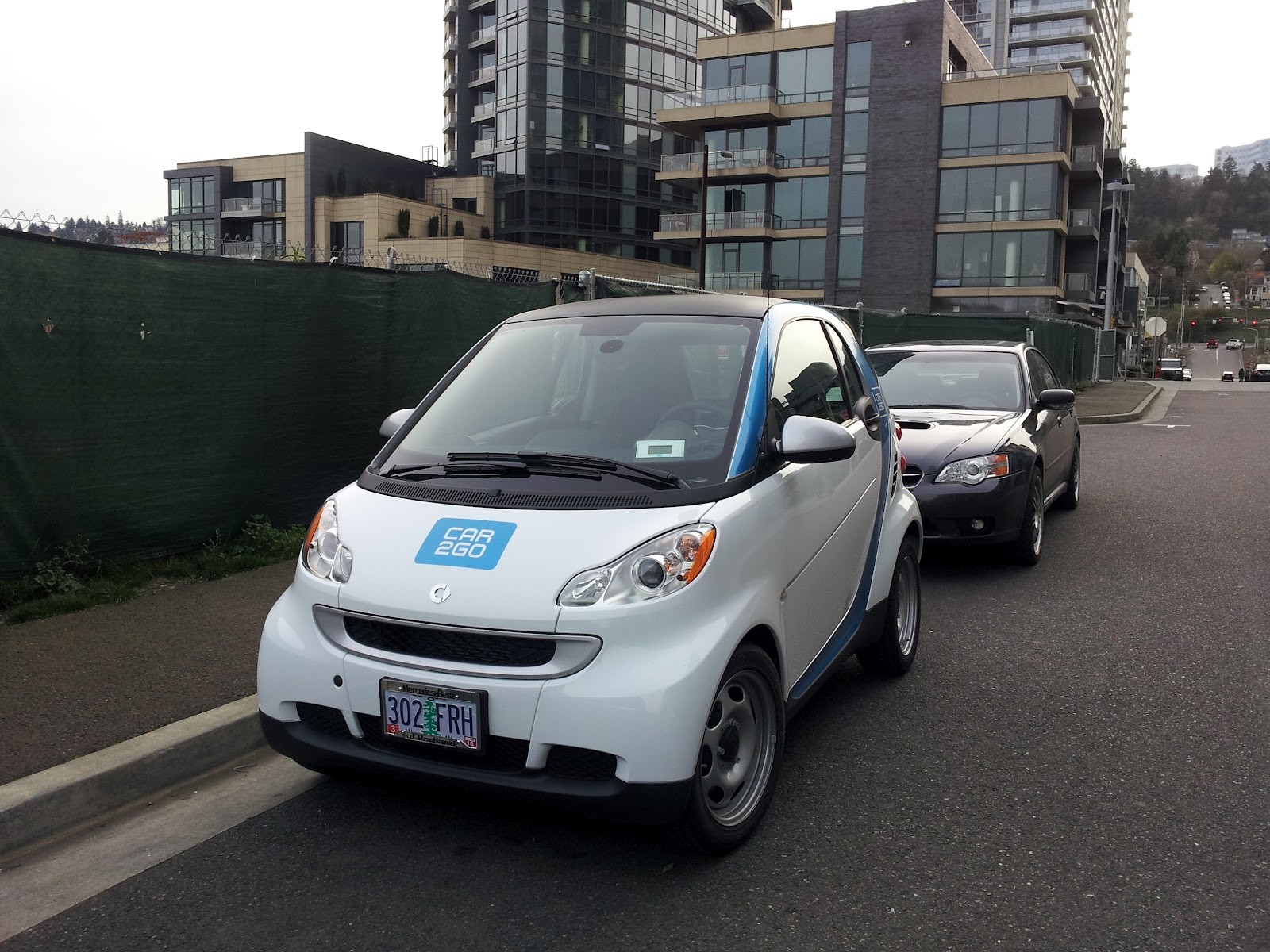 South Waterfront Blog Cute Little Car2go