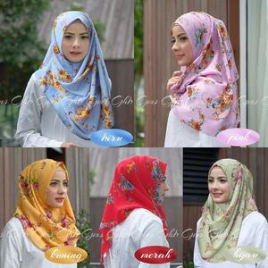 Jilbab Instan Sala Mawar Murah Terbaru