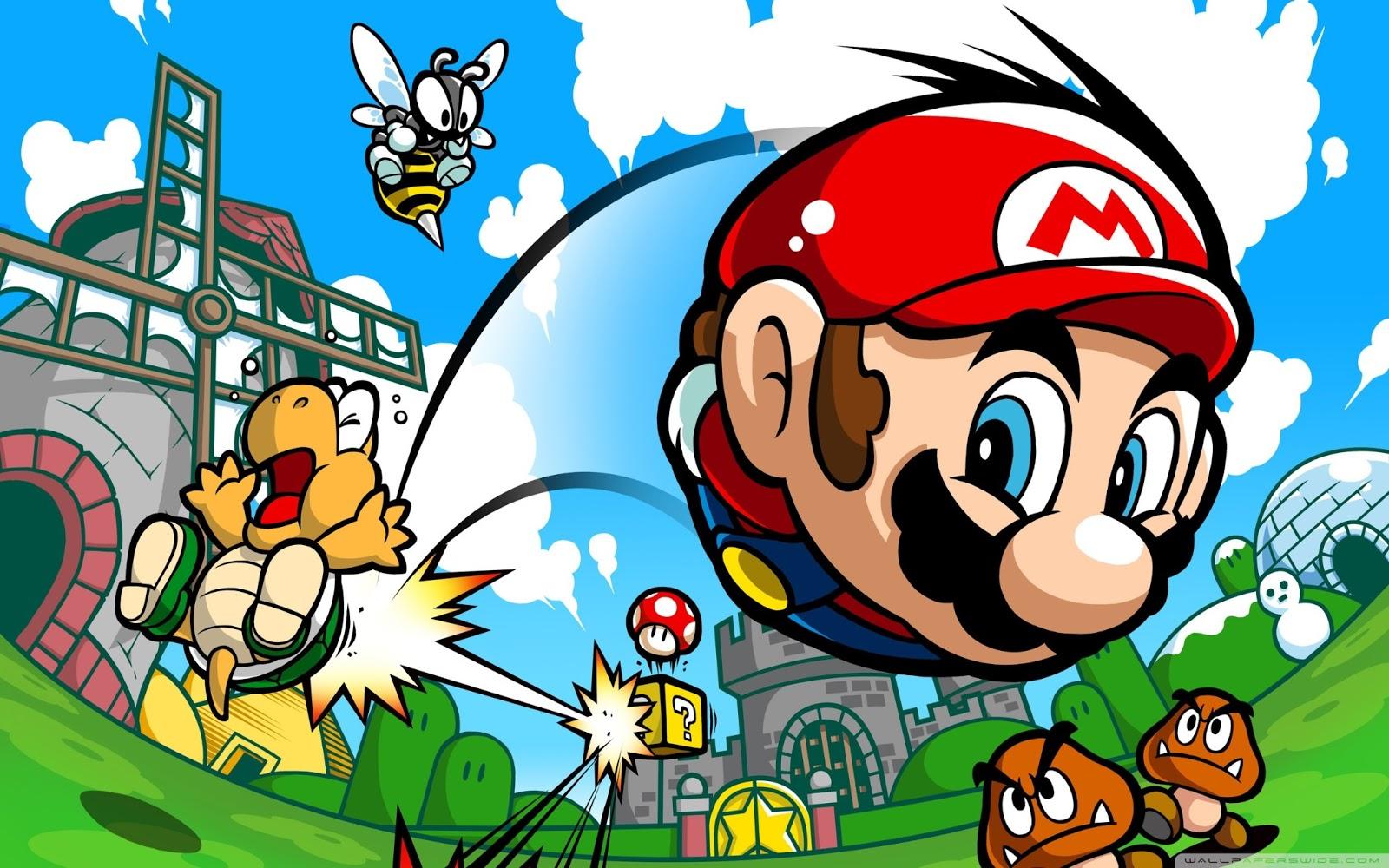 Mario Desktop Backgrounds