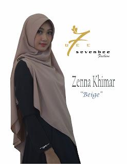 ZENNA KHIMAR BEIGE