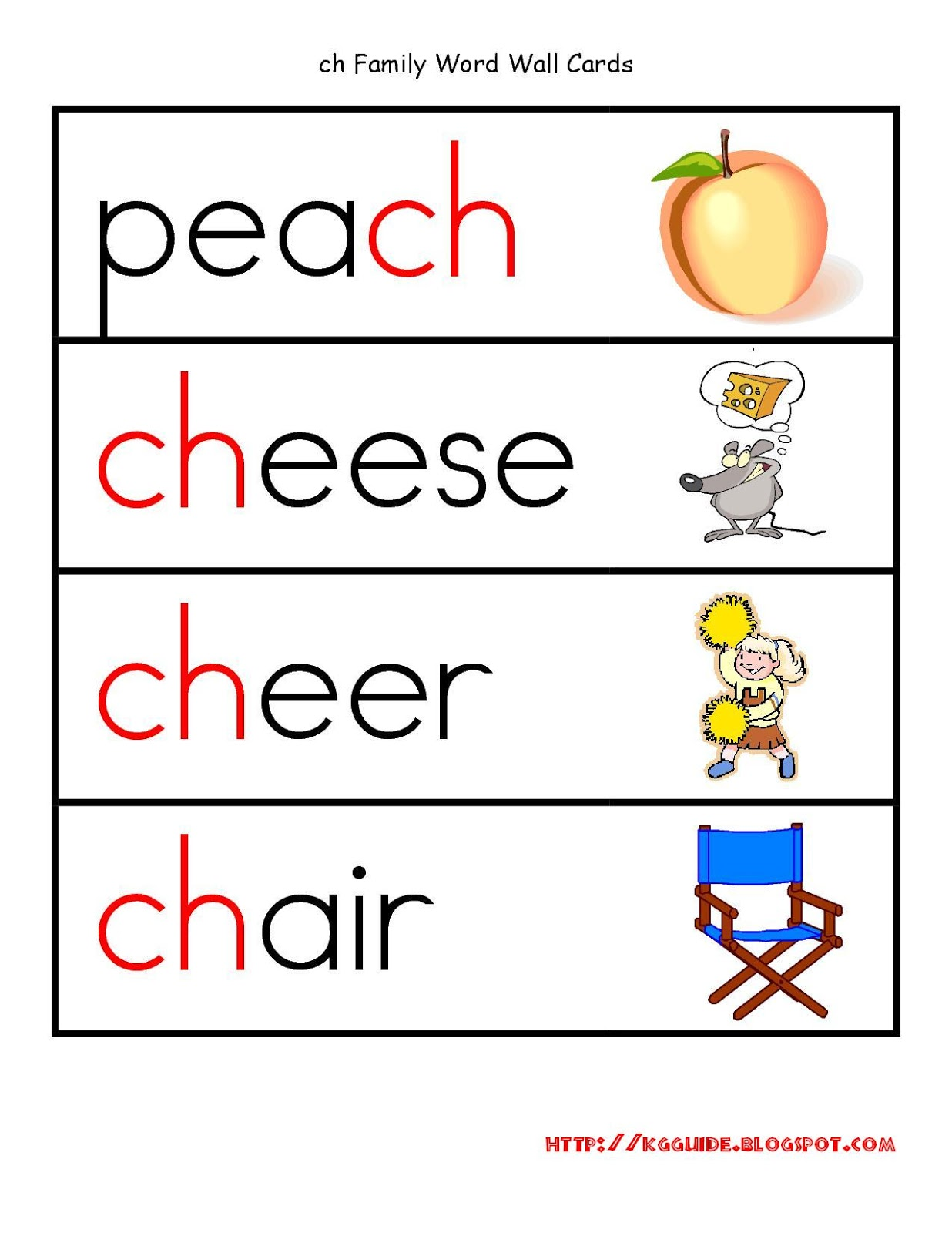 Phonetic Concept Worksheet
