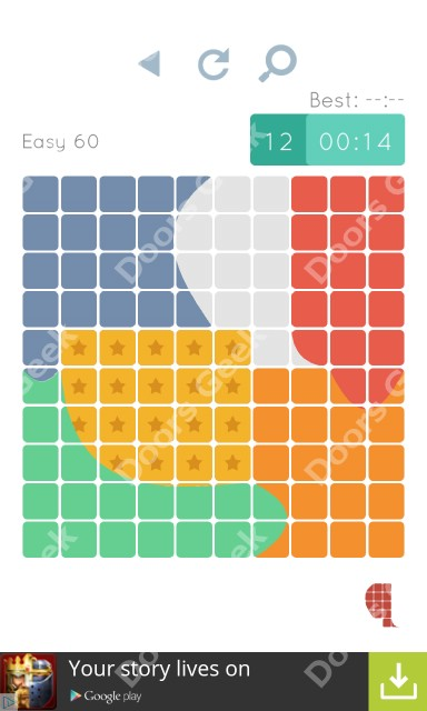 Cheats, Walkthrough for Blocks and Shapes Level 60