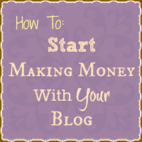 How To: Start Making Money With Your Blog -- Sparkle Me Pink