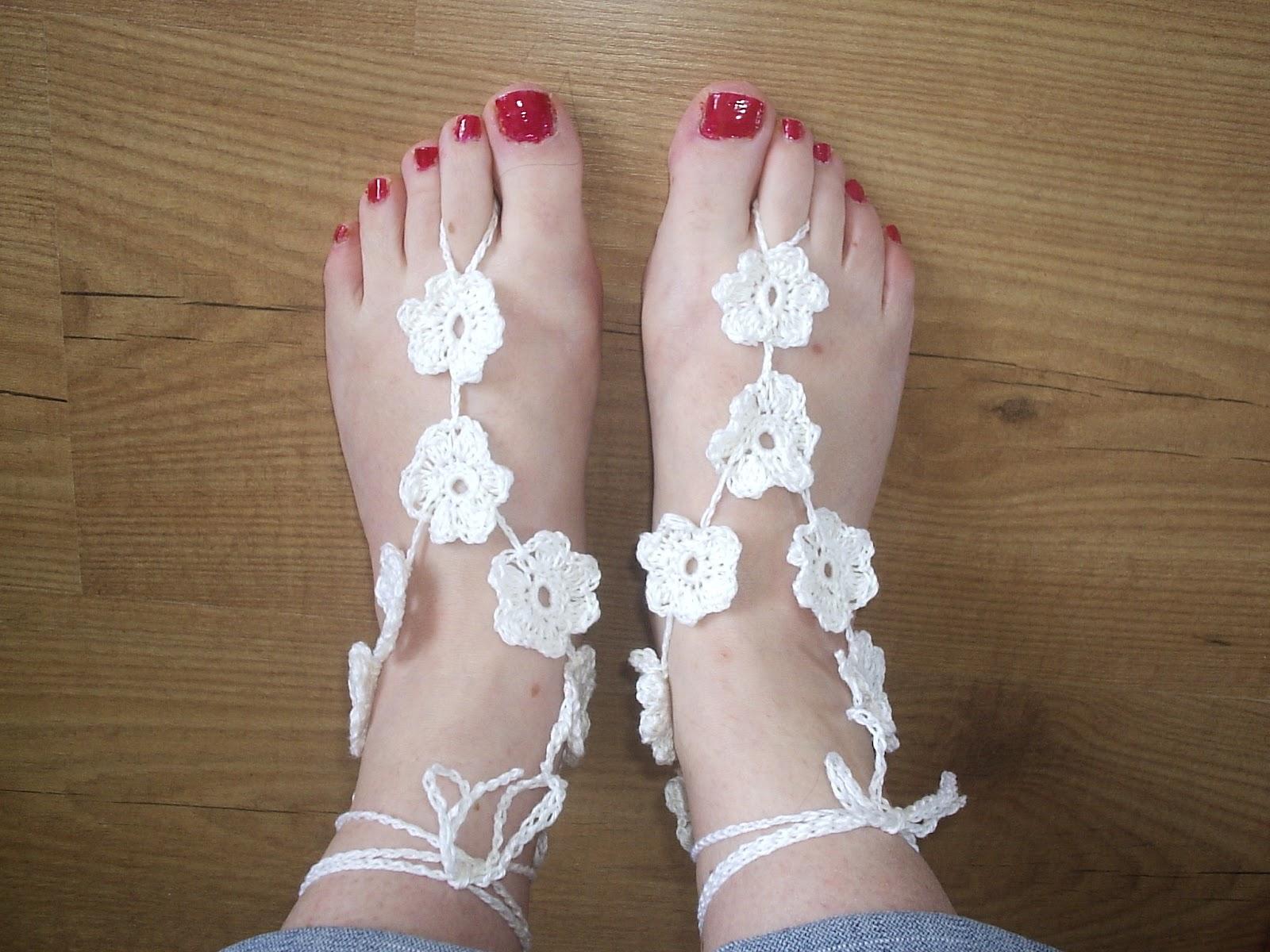 Voorkeur De Haakheksen: Blote voeten sandalen @YF91