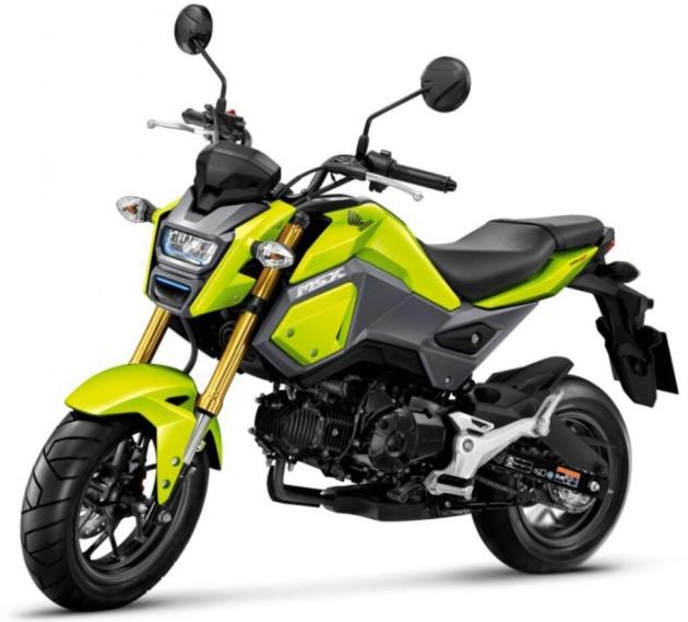 Honda Meluncurkan Mini Moto MSX 125 Automotive Amp Sport