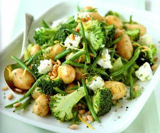 Broccoli Potato Salad (Patatesli Brokoli Salatasi)