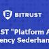 """"""" BITRUST """"Platform Asuransi Cryptocurrency Sederhana & Mudah Digunakan"""