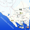 Peta lampung lengkap nama kabupaten dan kota
