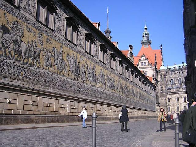 Mural Fürstenzug em Dresden