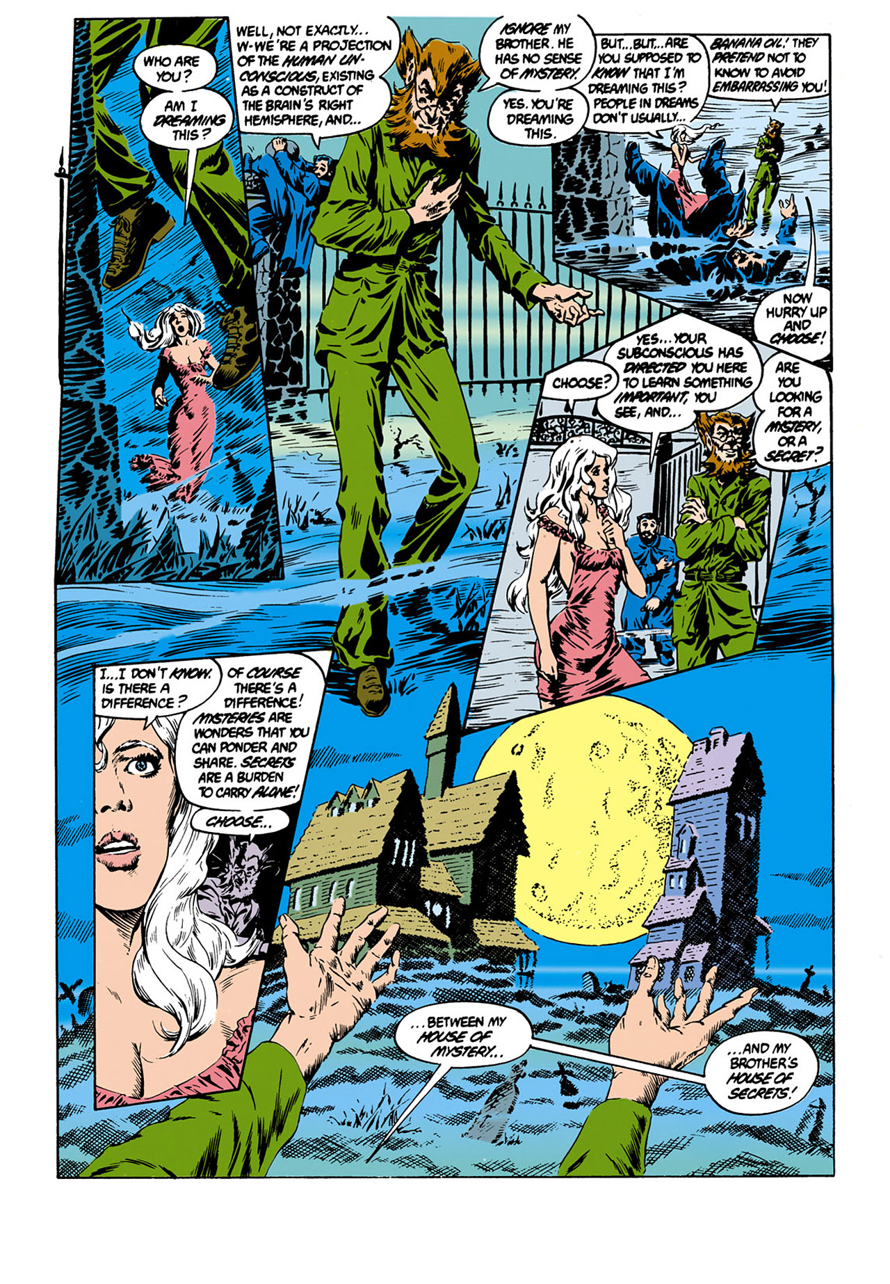 Swamp Thing (1982) Issue #33 #41 - English 4