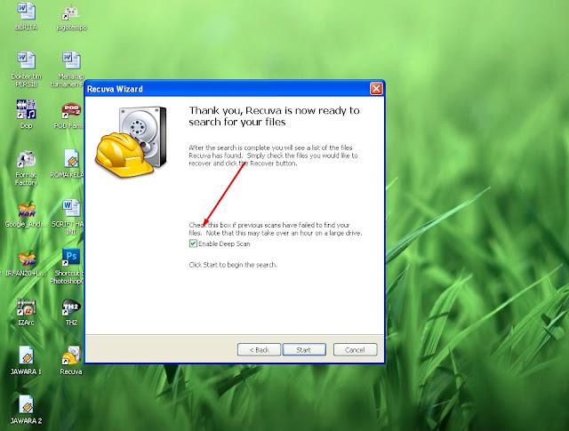 Cara mengembaliakan file yang terhapus di laptop atau PC