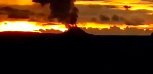 Dentuman Keras Gunung Anak Krakatau Terdengar sampai Anyer