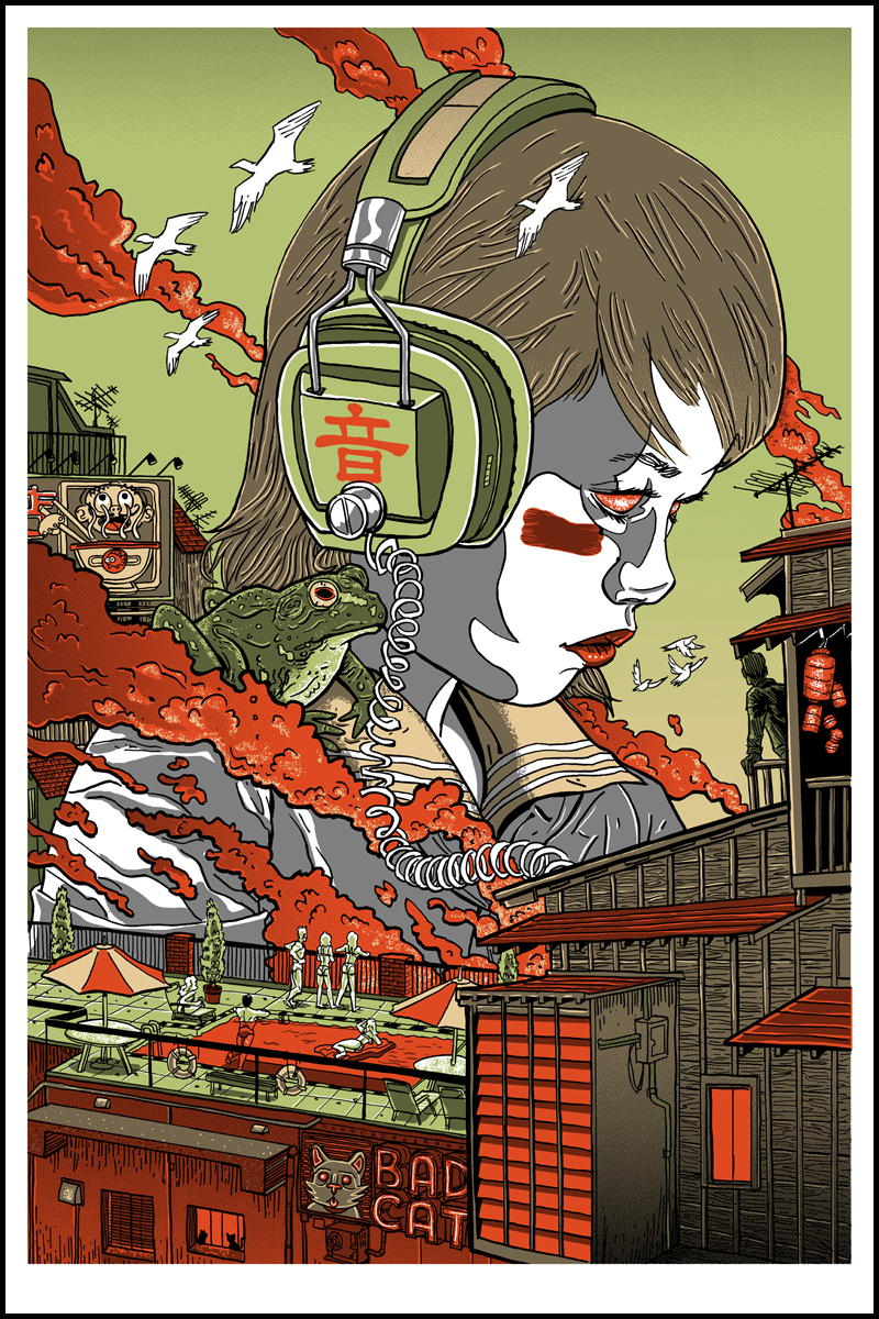 INSIDE THE ROCK POSTER FRAME BLOG: Guzu Gallery Presents Strange ...