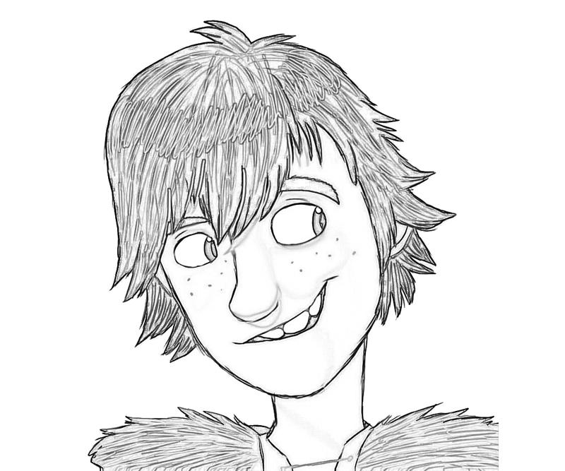 Httyd Hiccup Coloring Pages Coloring Pages
