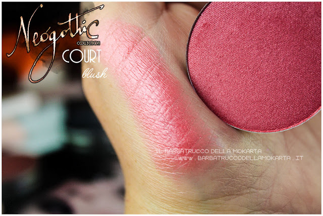 court swatches neogothic collection neve cosmetics