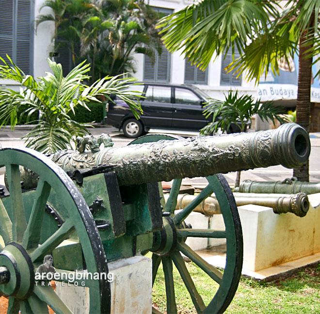 museum nasional indonesia meriam kuno han shizhong