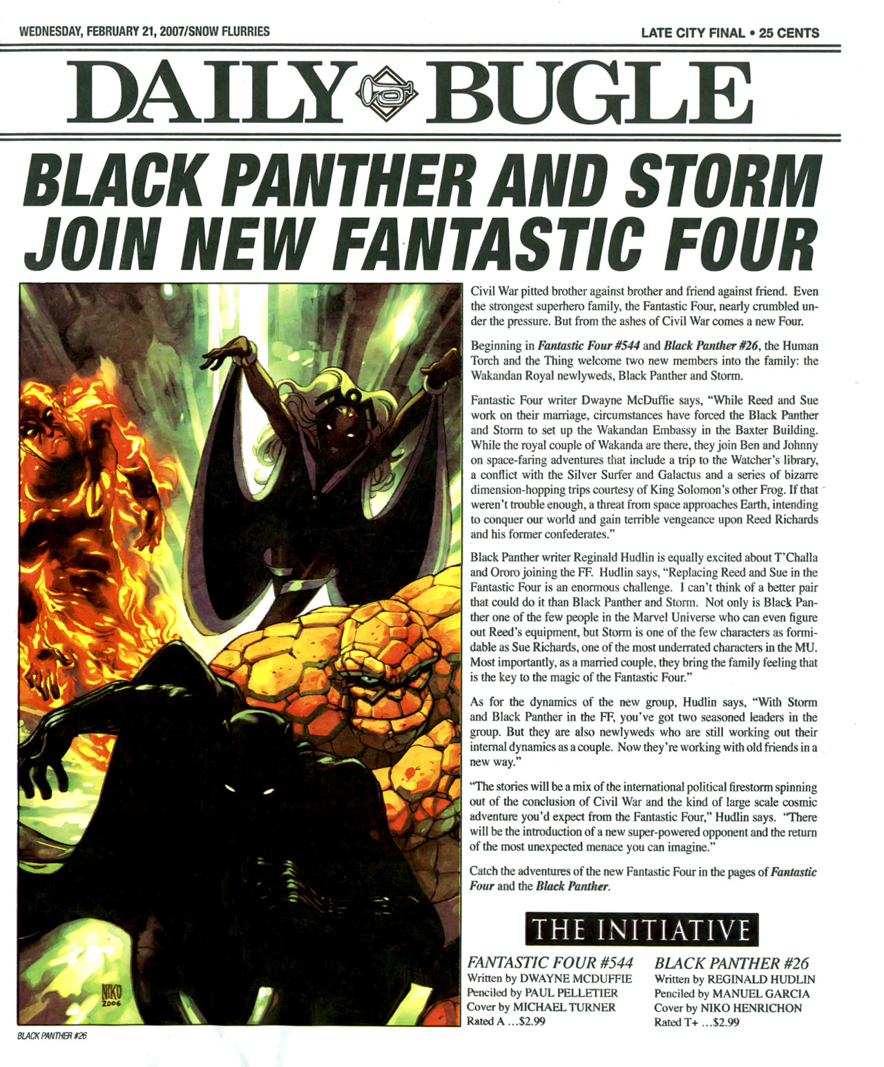 Read online Daily Bugle (2006) comic -  Issue #6 - 2