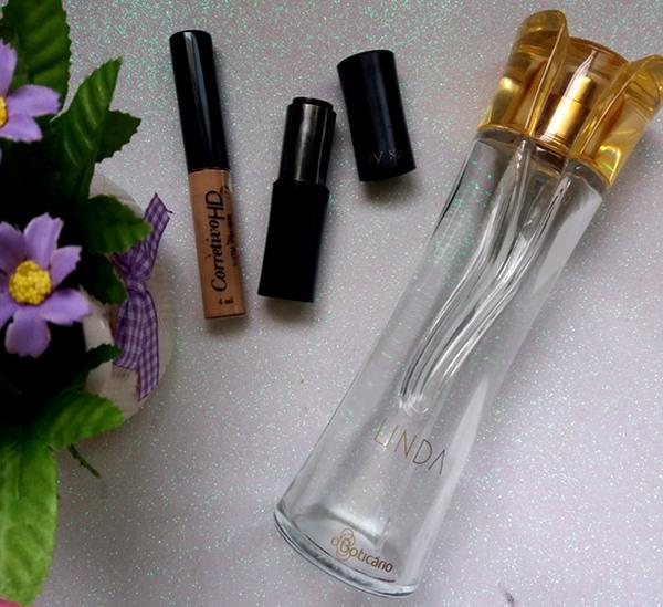 Os-finalizados-em-março-perfume-linda-oBoticário-corretivo-hd-Yescosmetics-batom-Pink-Passion-Mary-Kay