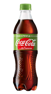 coca cola stevia bottle