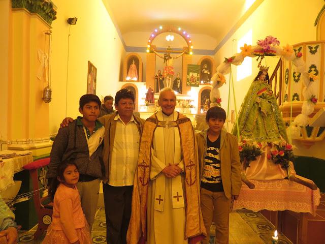 Heute feierten wir vor: Nuestra Señora del Carmen