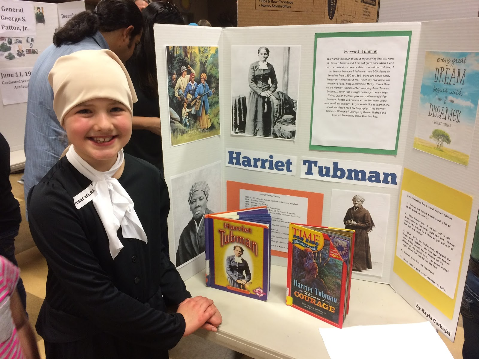 Upon A Dream Kayla S Third Grade Project The Wax Museum