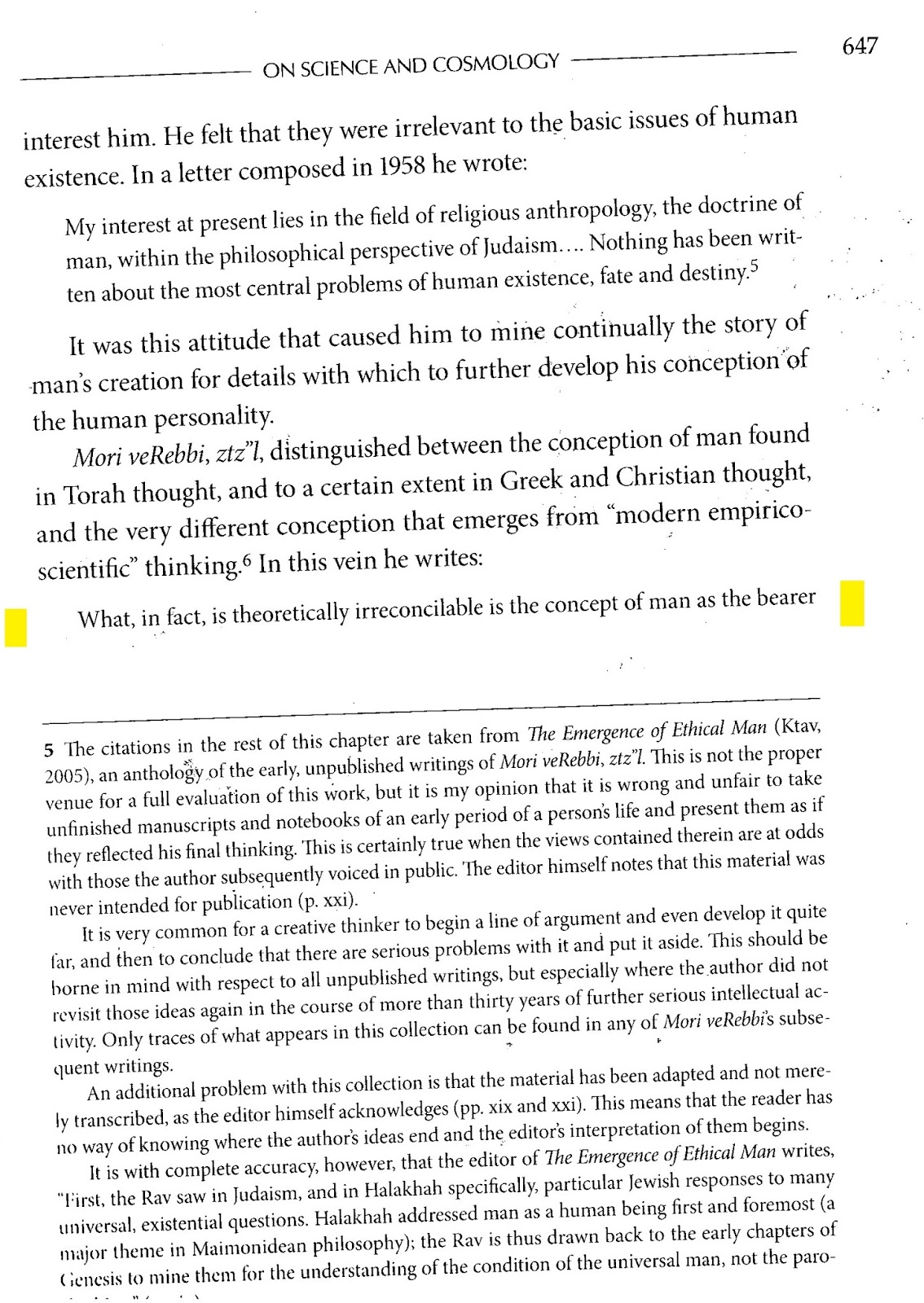 Rationalist judaism an assault on truth and here are the original pages from the emergence of ethical man with the relevant paragraphs which completely refute the earlier quoted paragraph fandeluxe Image collections