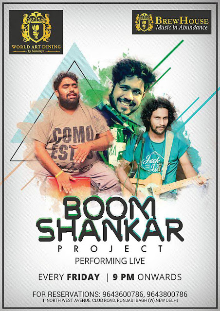 Boom Shankar Project Performing Live at Brewhouse
