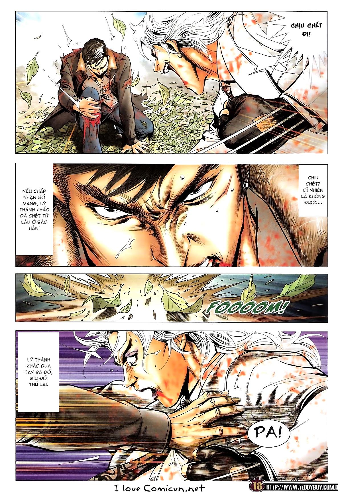 Người Trong Giang Hồ chapter 1677: sát thủ trang 15