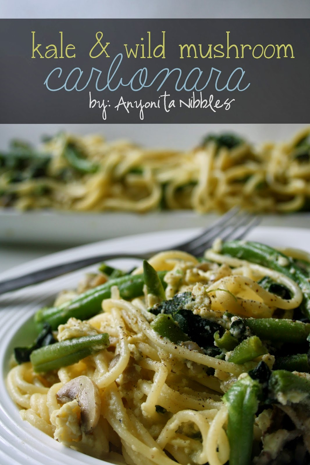 Quick vegetarian friendly carbonara | Anyonita Nibbles