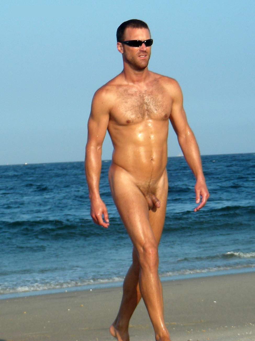 from Tristen naked guy on the beach