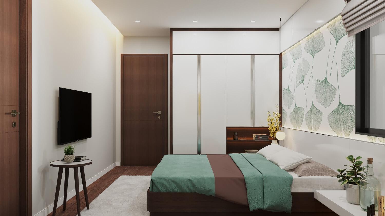 Phòng ngủ đầy tinh tế của dự án Rose Town