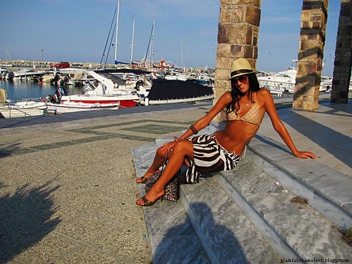 Panama hat beach and bikini outfits and summer looks