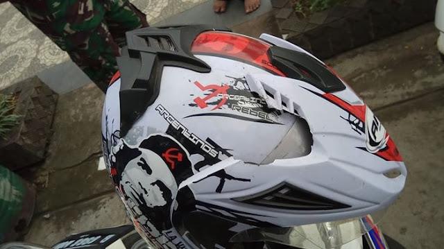 Lambang PKI Muncul Lagi, Kali ini Ada di Helm Milik Pengendara di Ciputat Banten