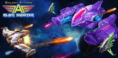 Galaxy Attack: Alien Shooter Apk (MOD, Free Shopping) for Android